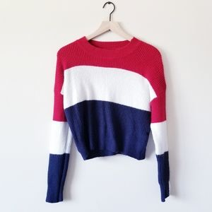 Ambiance Apparel Striped Sweater